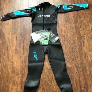 ORCA TRN Womens Wetsuit Black